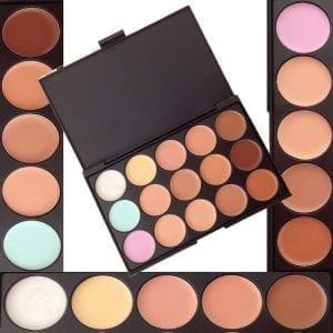 15 Colour Contour Concealer Palette
