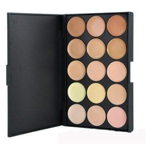 15 Colour Concealer Contour Palette